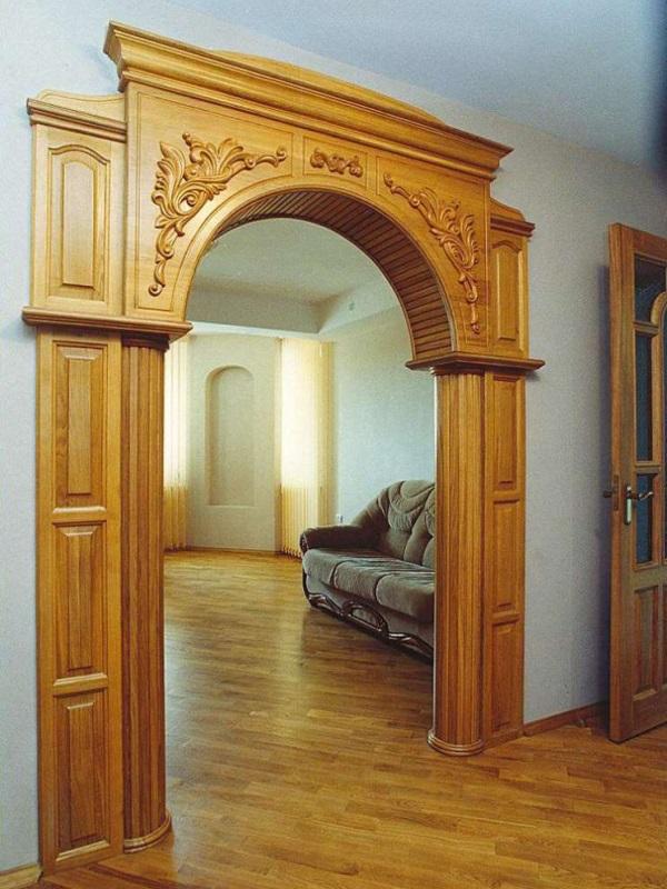 деревянные арки для дверных проходов фото статья